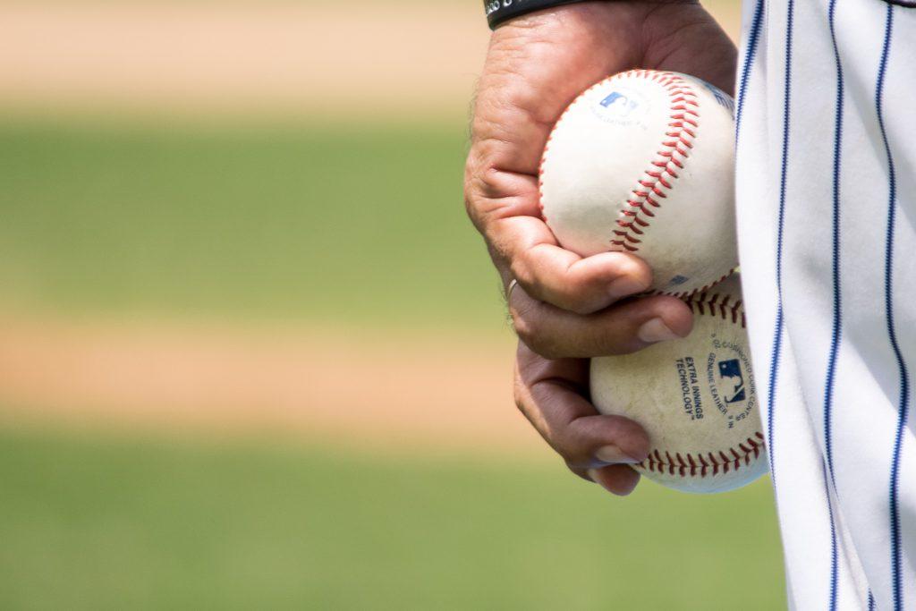 baseball balls