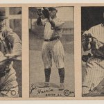 1923 strip baseball cards